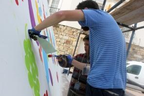 Atolye deneme-Slow food festival grafiti 10
