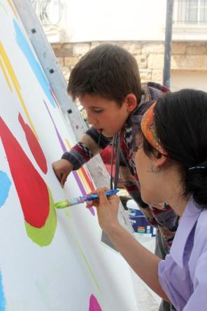 Atolye deneme-Slow food festival grafiti 11