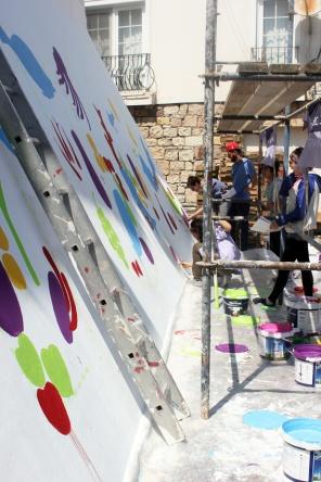 Atolye deneme-Slow food festival grafiti 12