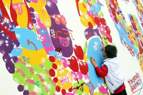 Atolye deneme-Slow food festival grafiti 2