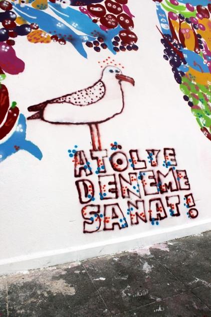 Atolye deneme-Slow food festival grafiti 3