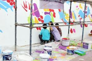 Atolye deneme-Slow food festival grafiti 6