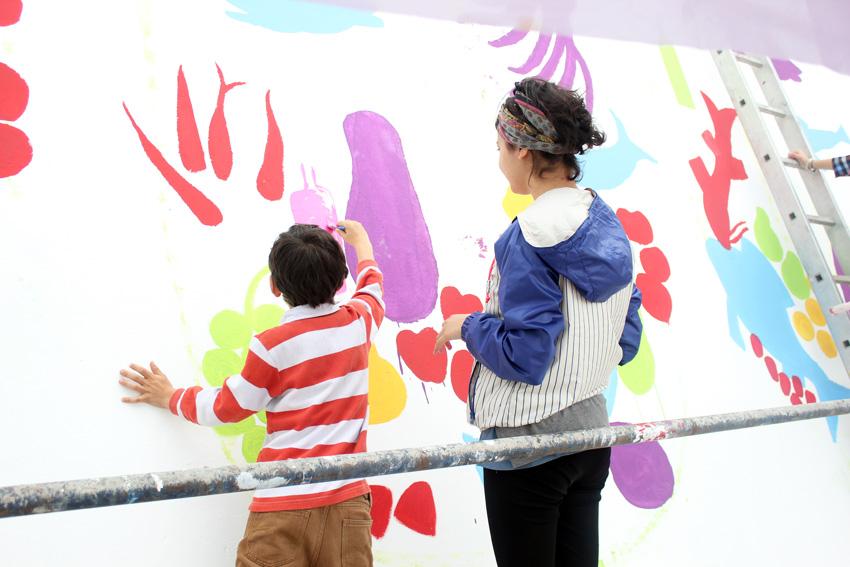 Atolye deneme-Slow food festival grafiti 7