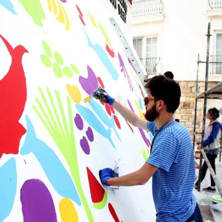 Atolye deneme-Slow food festival grafiti 9