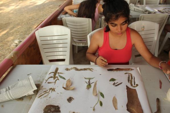 Pamucak kampı-atolye deneme