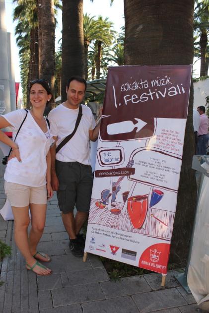 1. Sokakta Müzik Festivali, 21-22 Haziran 2012
