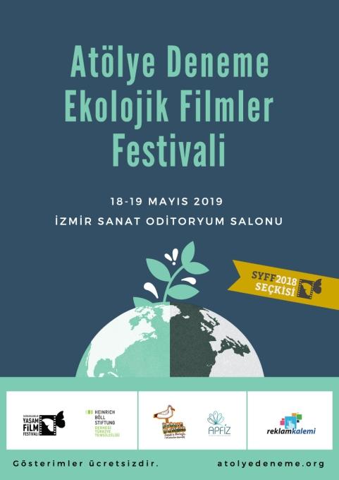 Atolye Deneme Ekolojik Filmler Festivali Poster